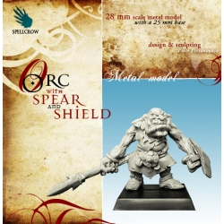 Orc with Spear and Shield