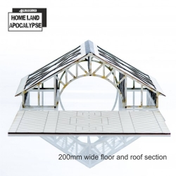 Shopping Mall 200mm Floor and Roof