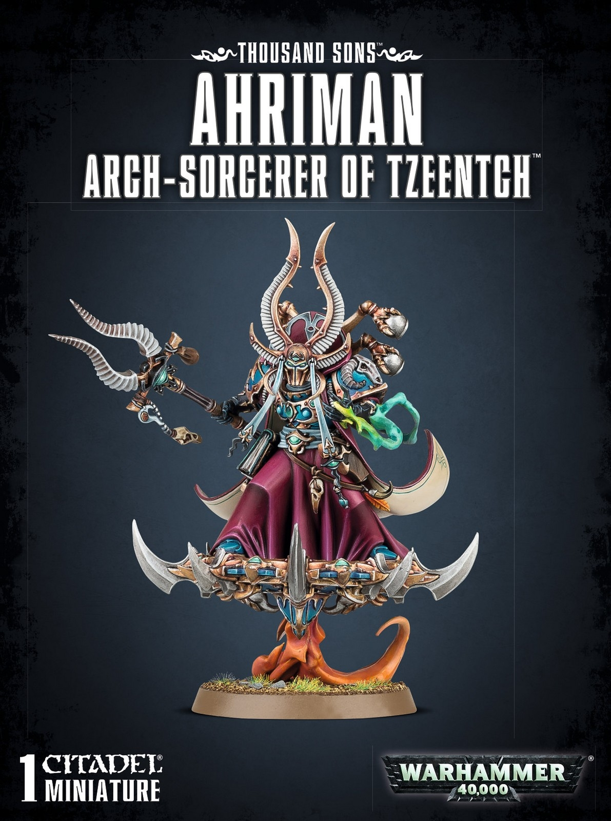 Chaos Space Marines Thousand Sons Ahriman Warhammer 40k