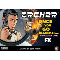 Archer Love Letter - Once You Go Blackmail Clamshell Edition
