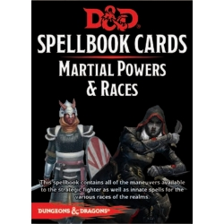 D&D: Martial Powers & Races Deck (61 Cards)