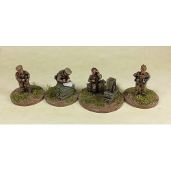 15mm British HQ / Battery Staff Teams