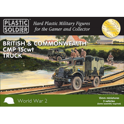 15mm British and Commonwealth CMP 15cwt Trucks