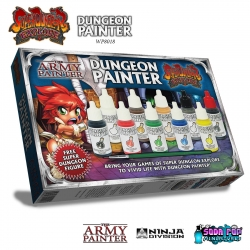 The Dungeon Painter: Paint Set for Super Dungeon Explore