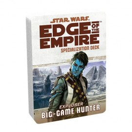 Edge of the Empire Specialization Deck: Big Game Hunter