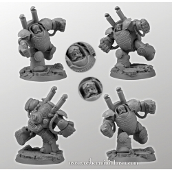 Dwarf Player Heavy Steam Armour