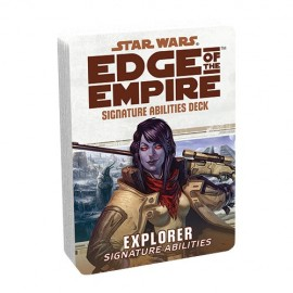 Edge of the Empire Specialization Deck: Explorer Signature Abilities