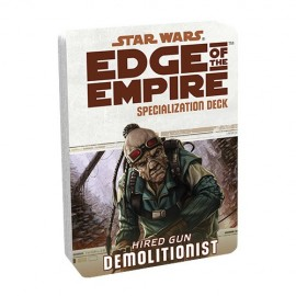 Edge of the Empire Specialization Deck: Demolitionist