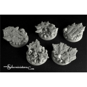 Cursed Earth 40 mm round bases set 1 (2)