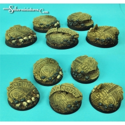 Egyptian Ruins 40 mm round bases set 1