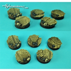 Egyptian Ruins 25 mm round bases set1 (5)