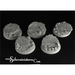 Egyptian Ruins 40mm Round Edge bases 1 (2)