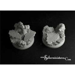 Royal Lions Ruins RoundEdge bases 40mm