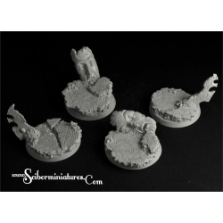 Sci-Fi Elven 40mm Round Bases Set 2