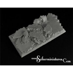 Elven Temple Ruins Square Bases 95mm /45mm