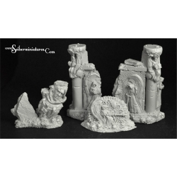 Angels Temple Ruins Terrain