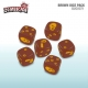 Zombicide: Dice - Brown