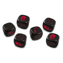 Zombicide: Dice - Black