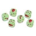 Zombicide: Dice - Glow In The Dark