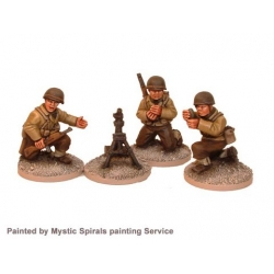 US Infantry 60mm Mortar & Crew
