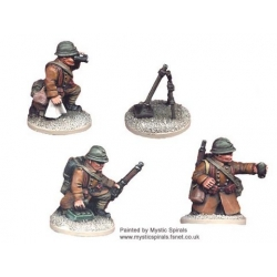 French 60mm Mortar and Crew