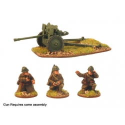 French 25mm AT Gun and Crew