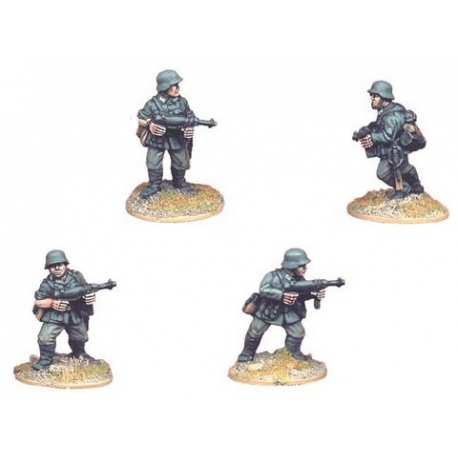 German Infantry with SMG