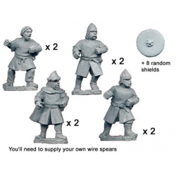 Unarmoured Spanish Spearmen