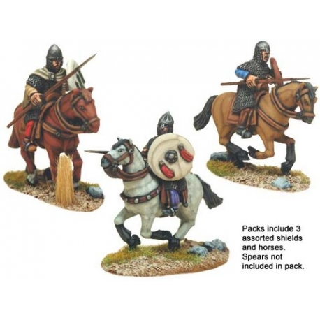 Spanish Knights in Chainmail with Spears