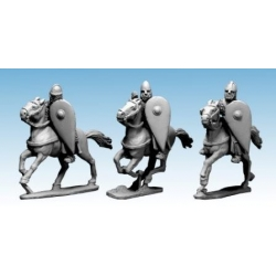 Norman Knights in Chainmail with Spears I