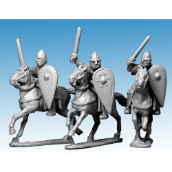Norman Knights in Chainmail with Swords
