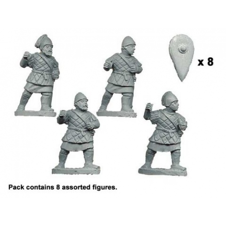 Byzantine Peltasts in Quilted Armour