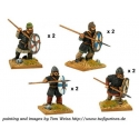 Saxon Thegns with Spears