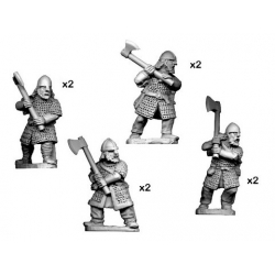 Hirdmen with 2 Handed Axes