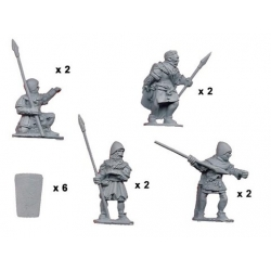 Spearmen with Pavise