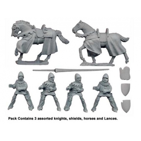 Mounted Knights with Lances