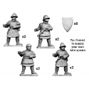 Men-at-Arms with Spears and Shields