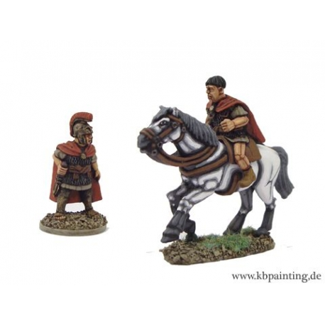 Republican Roman General, Foot and Mounted