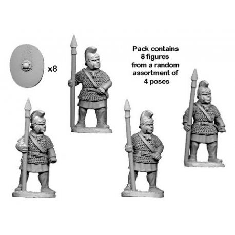 Late Roman Legionary in Mail