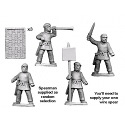 Persian Sparabara Spearmen Command