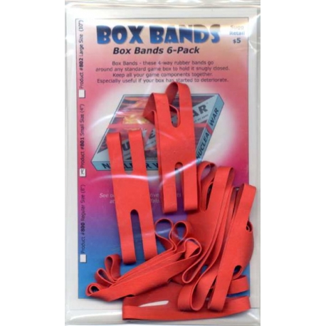 Box Bands: Small Size Red