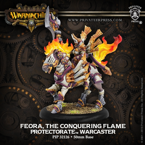 Feora The Conquering Flame III