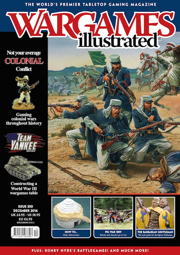 WARGAMES ILLUSTRATED ISSUE 334 BRAND NEW CHEAP!