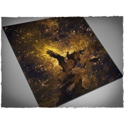 4ft x 4ft, Orbital Night Coast Theme Mousepad Game Mat