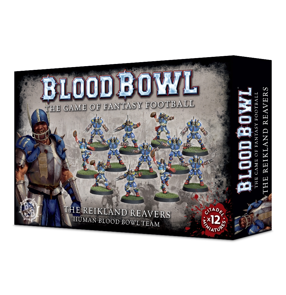 Double Sided Human Team Token *BITS* Blood Bowl Core Game Human Team