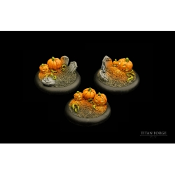 Halloween Round Bases 40mm (3)