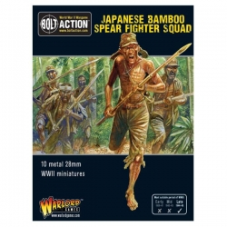 Japanese Bamboo Spear Fighter squad