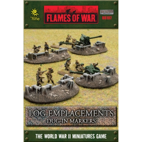 Battlefield in a Box: Log Emplacements
