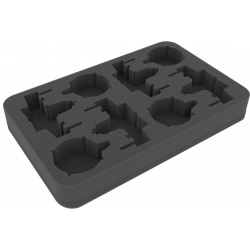 Foam Tray for Star Wars X-WING 4 x ARC-170 or K-Wing and Accessories