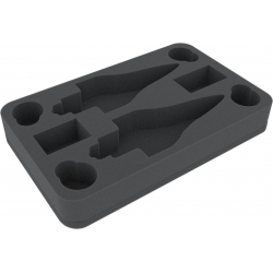 Foam Tray for Star Wars Armada Wave 4 MC80 Liberty Type Star Cruiser and Home One